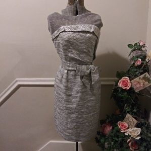 NWOT Kate Spade Kay Silver Starlight Dress